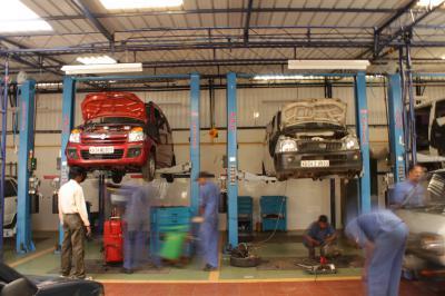 Фургоны – автомастерские для перевозки инструментов